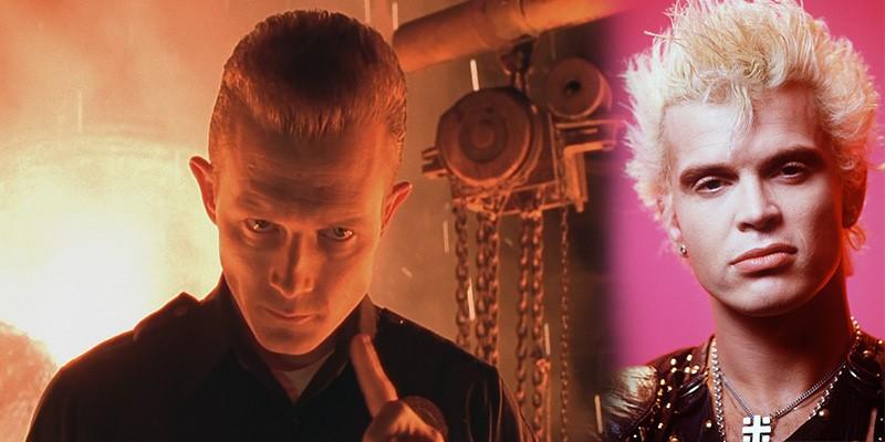 Billy Idol Terminator 2de T 1000 Rolünde Olabilirmiş