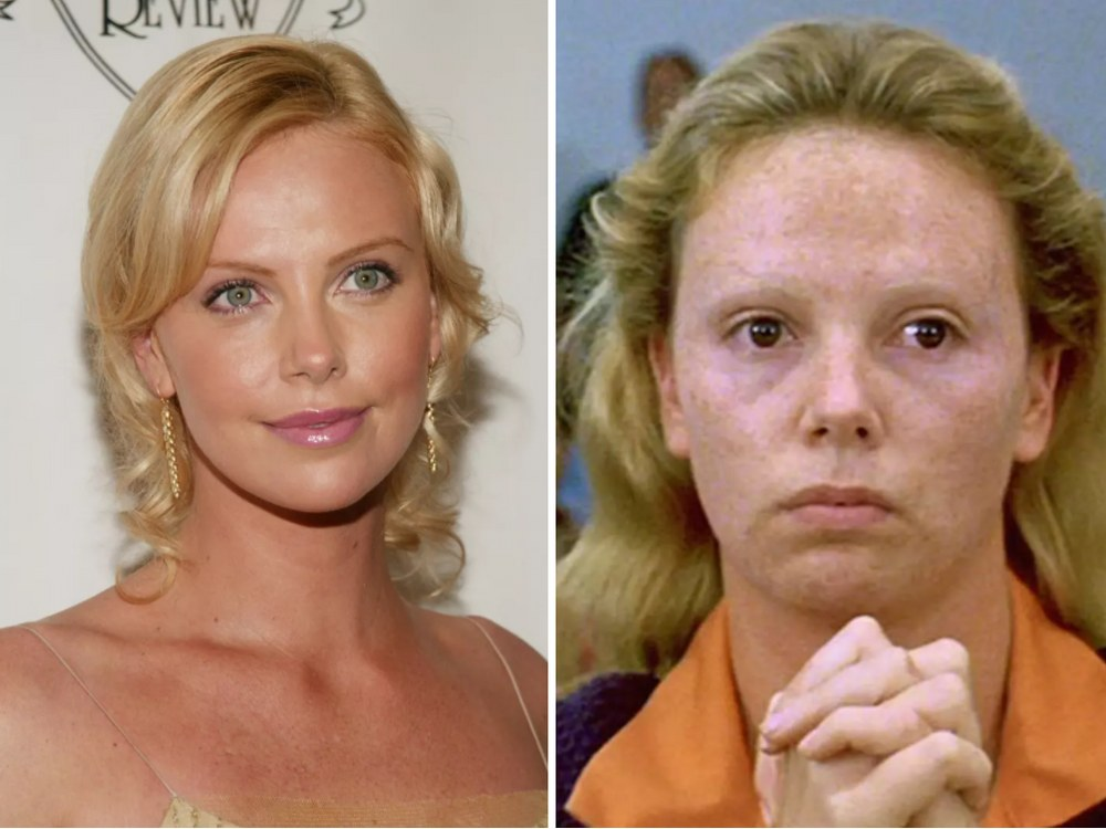 Aileen Wuornos Rolinde Charlize Theron (Monster)