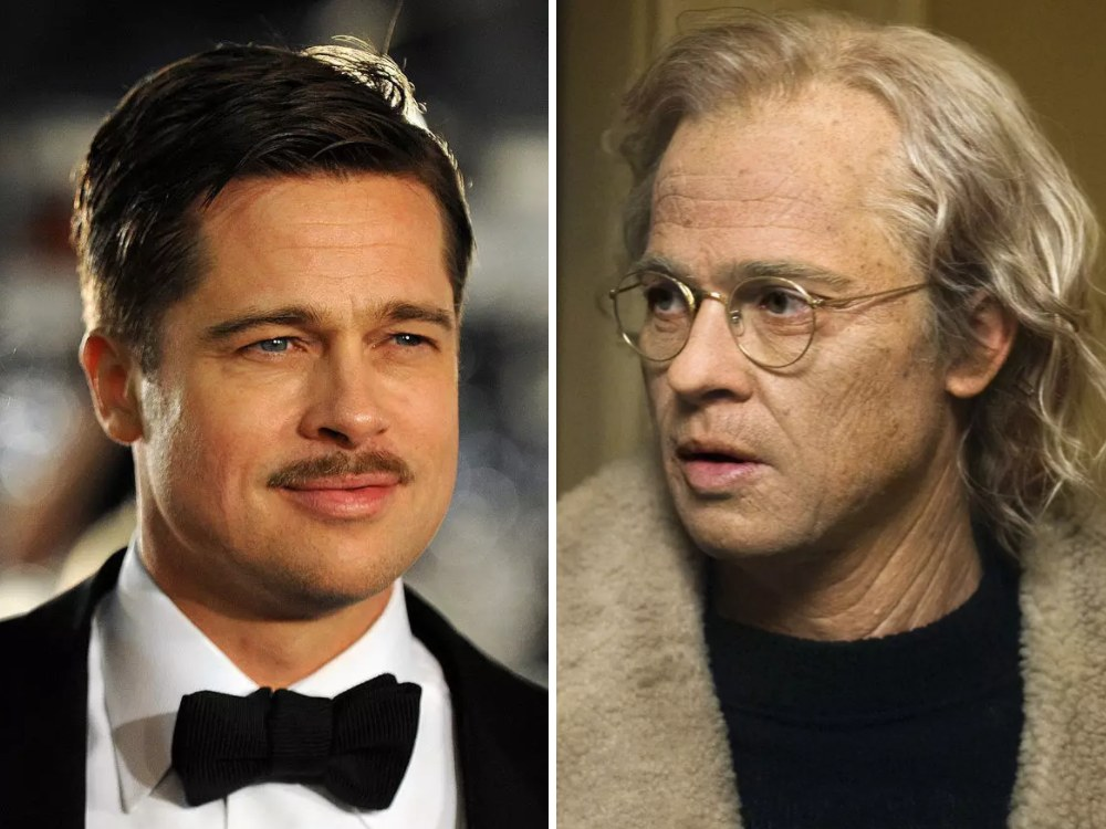 Benjamin Button Rolünde Brad Pitt (The Curious Case of Benjamin Button)