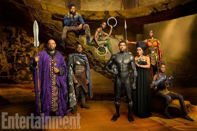 Black Panther Filminden Kareler