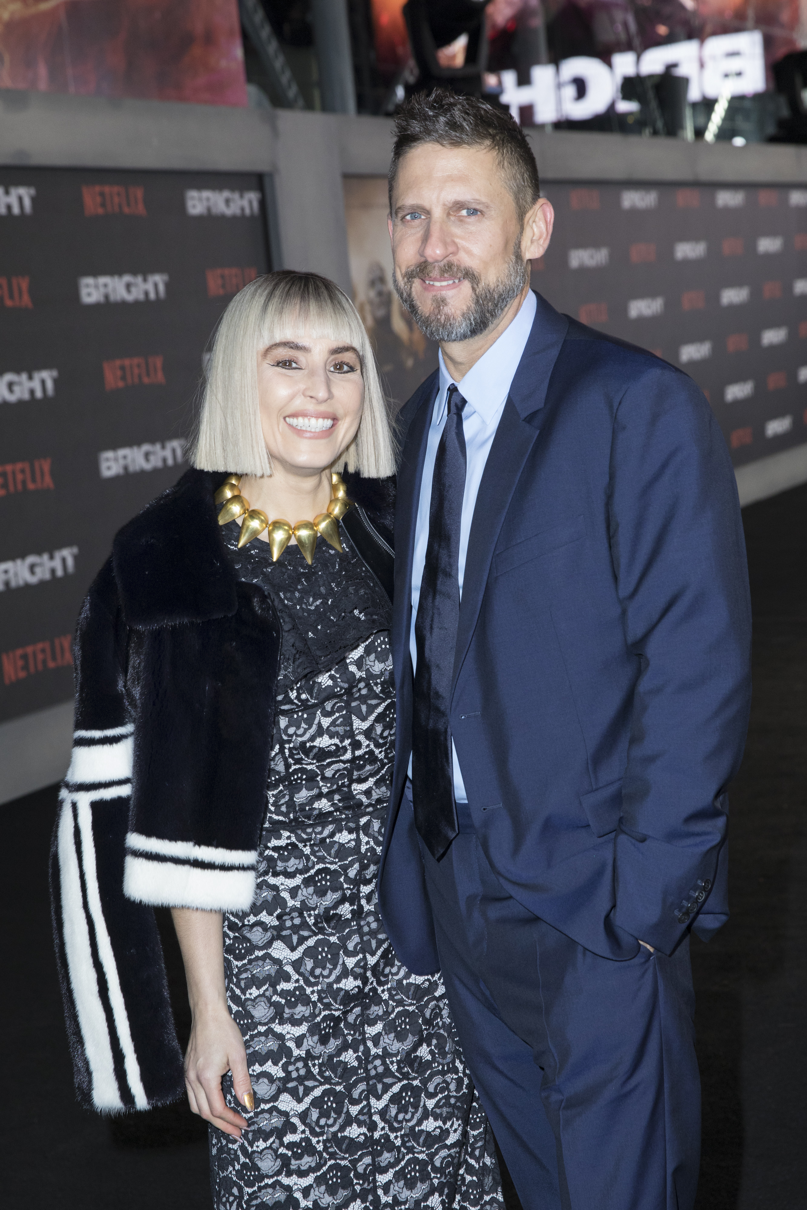 David Ayer ve Noomi Rapace