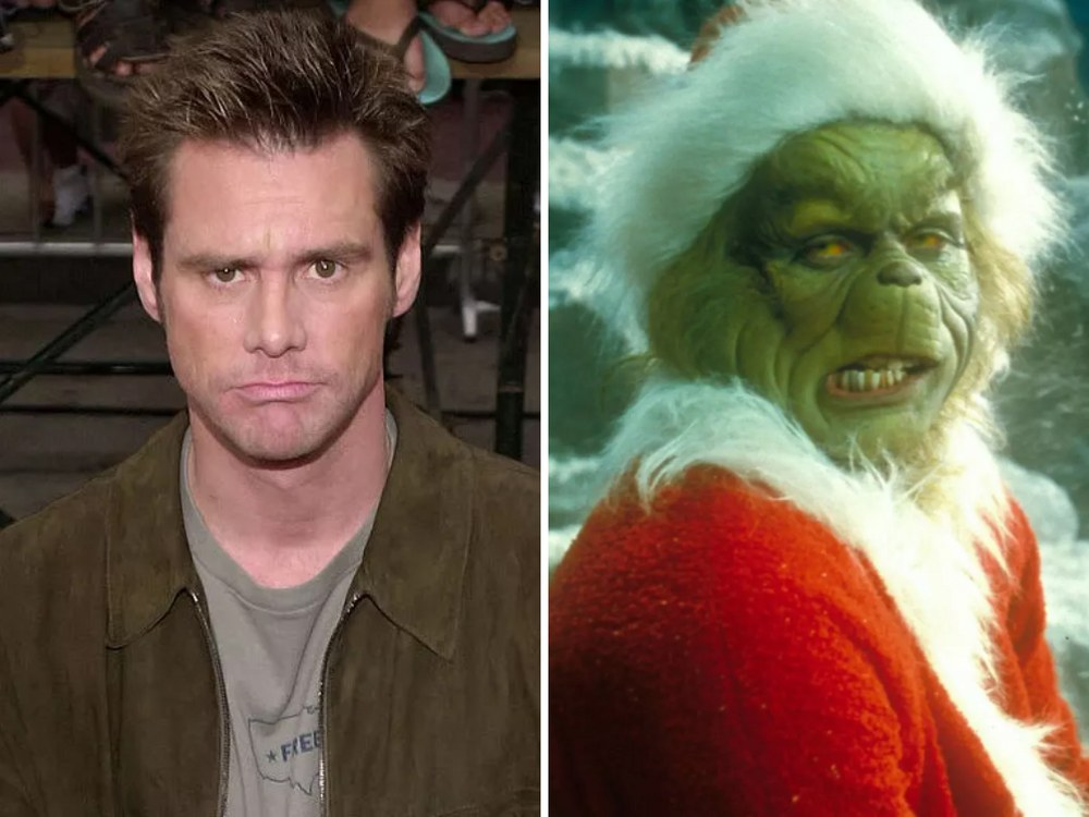 Grinch Rolünde Jim Carrey (How the Grinch Stole Christmas)