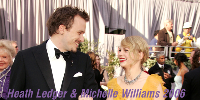 Heath Ledger & Michelle Williams 2006
