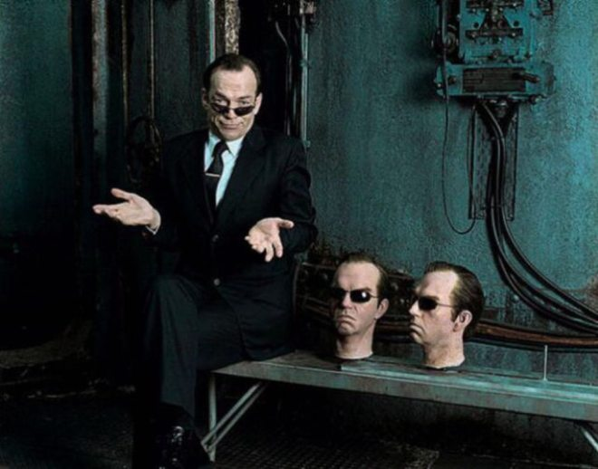 Hugo Weaving 'The Matrix' (1999)