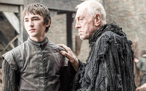 Isaac Hempstead Wright - Bran Stark ve Max von Sydow