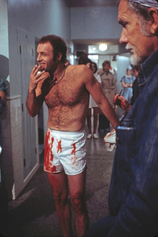 "James Caan ve Sam Peckinpah ""The Killer Elite"" (1975)"