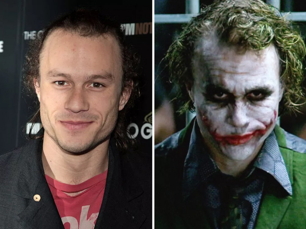 Joker Rolünde Heath Ledger (The Dark Knight)