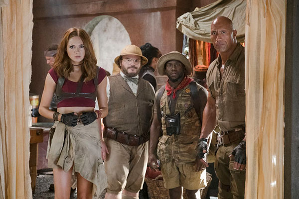 Jumanji: Welcome to the Jungle'dan Fotoğraflar
