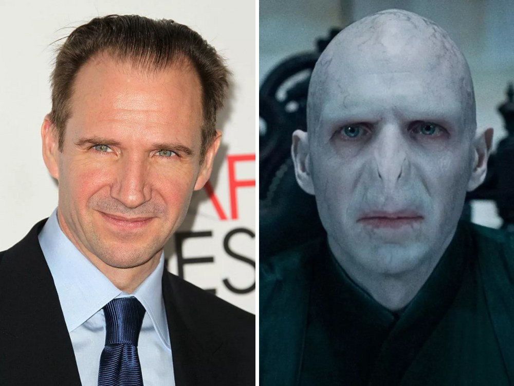 Lord Voldemort Rolünde Ralph Fiennes (Harry Potter)