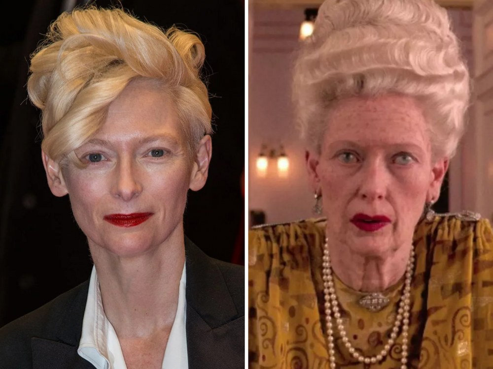 Madame D Rolünde Tilda Swinton (The Grand Budapest Hotel)