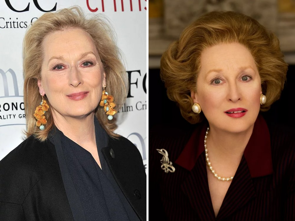 Margaret Thatcher Rolünde Meryl Streep (The Iron Lady)