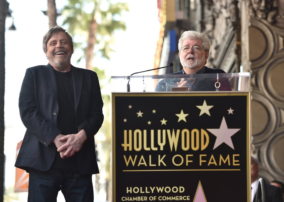 Mark Hamill, George Lucas