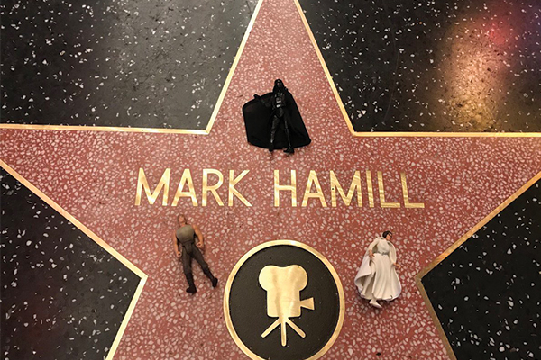 Mark Hamill, Hollywood Walk of Fame Kaldırımda!