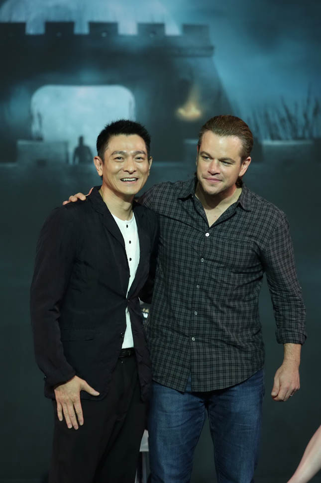 Matt Damon ve Andy Lau