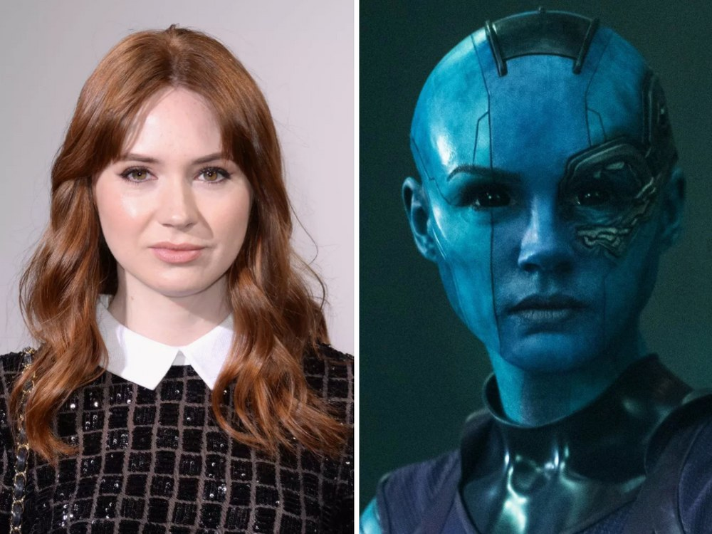 Nebula Rolünde Karen Gillan (Guardians of the Galaxy)