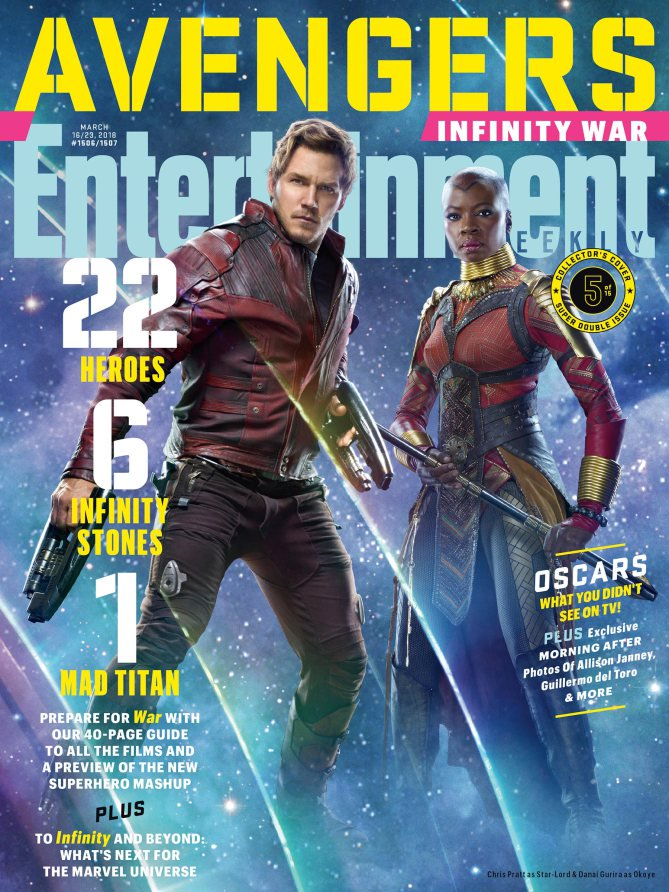 Okoye & Star-Lord