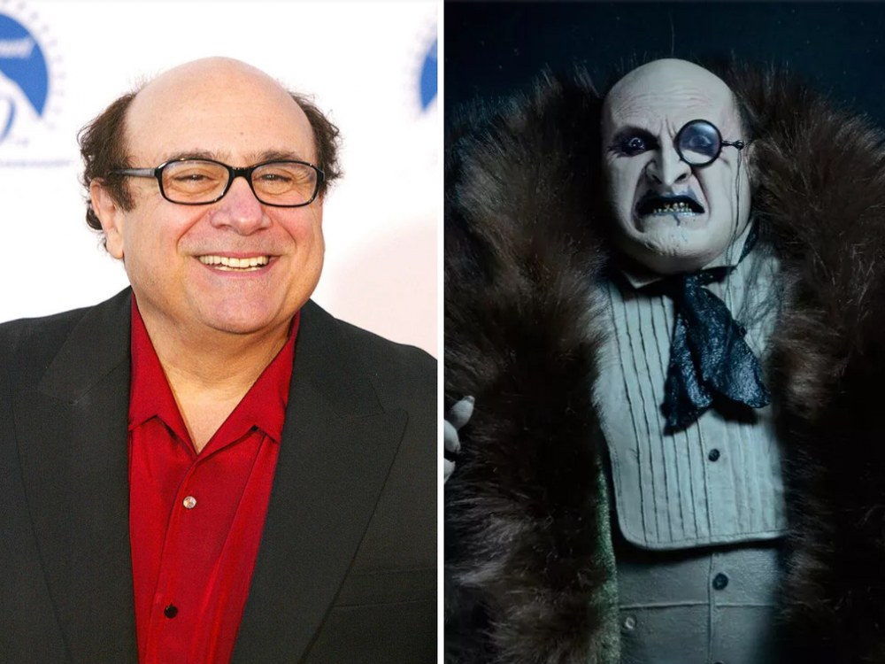 Penguin Rolünde Danny DeVito (Batman Returns)