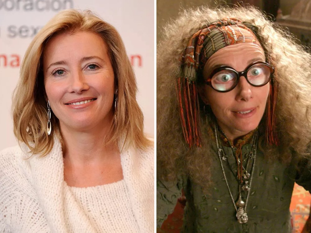 Professor Trelawney Rolünde Emma Thompson (Harry Potter)