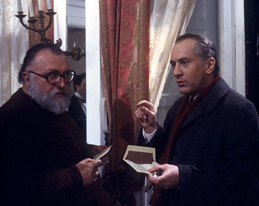 "Robert De Niro ve Sergio Leone ""Once Upon a Time in America"""