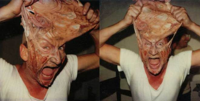 "Robert Englund ""A Nightmare on Elm Street"" setinde"