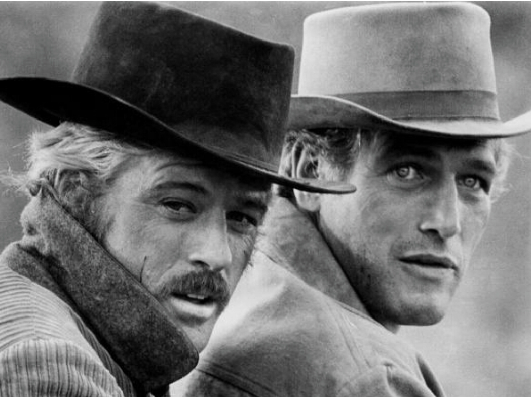 Robert Redford ve Paul Newman