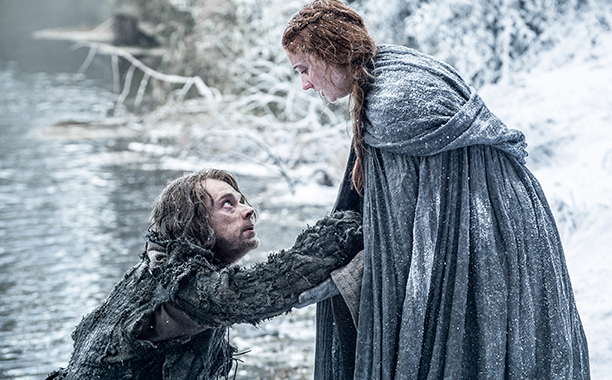 Sansa Stark ve Theon Greyjoy