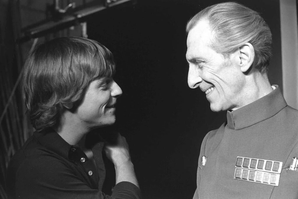 Tarkin ve Luke Skywalker