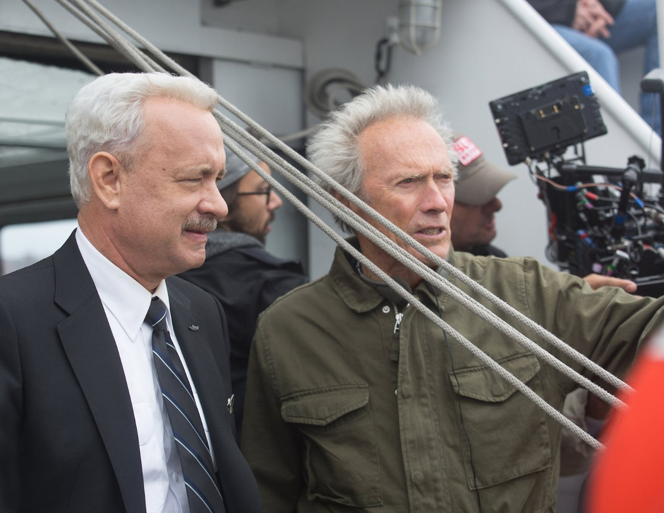 Tom Hanks & Clint Eastwood