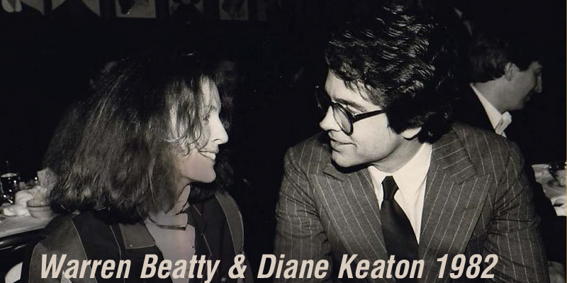 Warren Beatty & Diane Keaton 1982